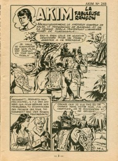 Extrait de Akim (1re série) -248- La fabuleuse rançon