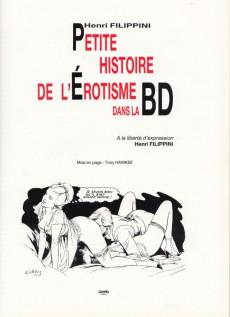 Extrait de (DOC) Bande dessinée érotique - Petite histoire de l'Érotisme dans la BD... Des origines à nos jours !...