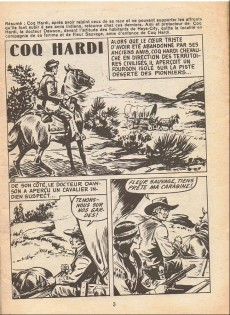 Extrait de Coq Hardi (1e Série) -5- Virginia City ville fantôme