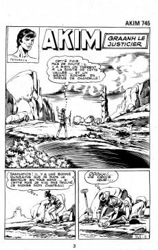 Extrait de Akim (1re série) -745- Graanh le justicier