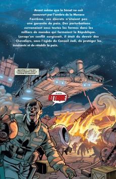 Extrait de Star Wars - L'Ordre Jedi -2- Actes de guerre