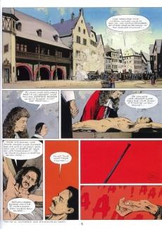 Extrait de Le masque de fer (Cothias/Marc-Renier) -2- Qui vengera Barrabas?