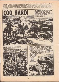 Extrait de Coq Hardi (1e Série) -8- Sur la piste des mormons