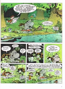 Extrait de La jungle en folie -10- Le monstre ...du loque Néness !