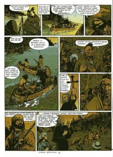 Extrait de Les pionniers du Nouveau Monde -1b1990- Le pilori