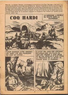 Extrait de Coq Hardi (1e Série) -10- La caravane a repris sa route vers la Californie...
