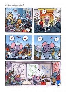 Extrait de Anton l'éléphant peintre