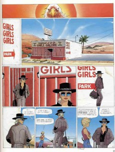 Extrait de Jessica Blandy -6a1997- Au loin, la fille d'Ipanema...