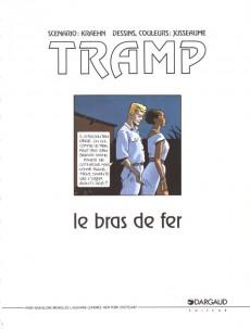 Extrait de Tramp -2a- Le bras de fer