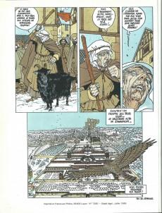 Extrait de Les 7 Vies de l'Épervier -1a1984- La blanche morte