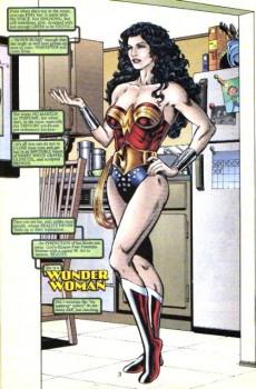 Extrait de Wonder Woman Vol.2 (DC comics - 1987) -170- She's a wonder!