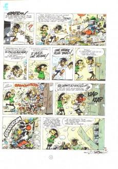 Extrait de Gaston -12a1980- Le gang des gaffeurs