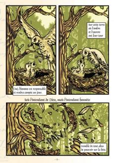 Extrait de Poèmes en bandes dessinées - Poèmes de Victor Hugo en bandes dessinées