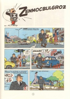 Extrait de Spirou et Fantasio -15e89- Z comme zorglub