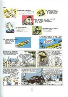Extrait de Spirou et Fantasio -17f92- Spirou et les hommes-bulles