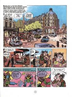 Extrait de Spirou et Fantasio -37c93a- Le Réveil du Z
