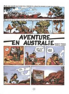 Extrait de Spirou et Fantasio -34a86- Aventure en australie
