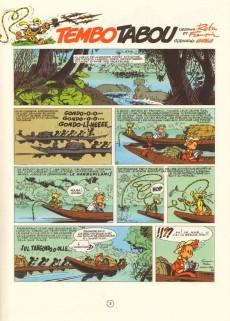 Extrait de Spirou et Fantasio -24b81- Tembo tabou