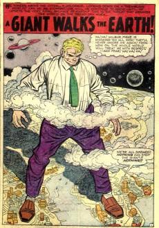 Extrait de Strange Tales (Marvel - 1951) -70- When Wakes the Sphinx!