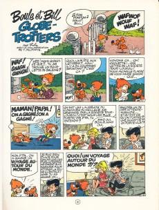Extrait de Boule et Bill -03- (Publicitaires) -6- Globe trotters tome 1
