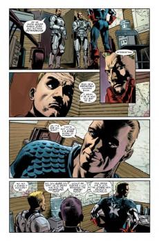 Extrait de Captain America (Marvel comics - 1968) -INT11- Two Americas