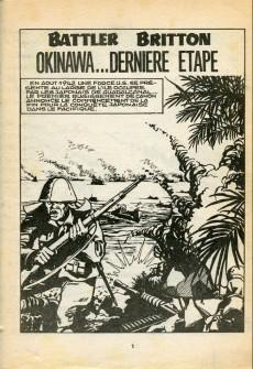 Extrait de Battler Britton -376- Okinawa... dernière étape