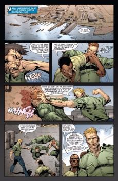 Extrait de Adam: Legend of The Blue Marvel (2009) -4- Part 4