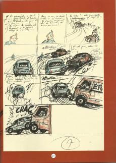 Extrait de Tintin (Historique) -24D- Tintin et l'Alph-Art