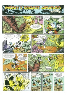 Extrait de Mickey (collection Disney / Glénat) - Mickey's Craziest Adventures