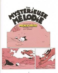 Extrait de Mickey (collection Disney / Glénat) -1- Une mystérieuse mélodie, ou comment Mickey rencontra Minnie