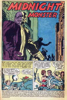 Extrait de Adventure into Fear (Marvel comics - 1970) -6- The Midnight Monster