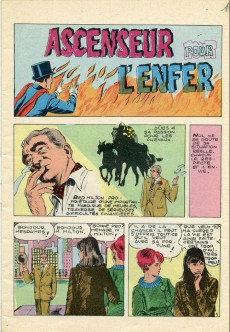 Extrait de Mandrake (1e Série - Remparts) (Mondes Mystérieux - 1) -115- Ascenseur pour l'enfer