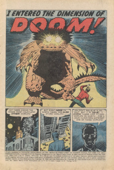 Extrait de Adventure into Fear (Marvel comics - 1970) -9- I Entered the Dimension of Doom!