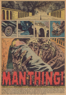 Extrait de Adventure into Fear (Marvel comics - 1970) -10- Cry monster!