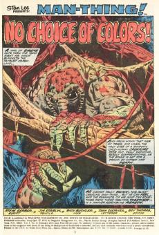 Extrait de Adventure into Fear (Marvel comics - 1970) -12- No Choice of Colors