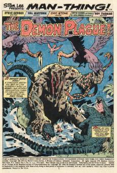 Extrait de Adventure into Fear (Marvel comics - 1970) -14- Plague of the Demon-Cult!
