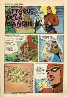 Extrait de Les héros de l'aventure (Classiques de l'aventure, Puis) -51- Le Fantôme : attaque de la banque