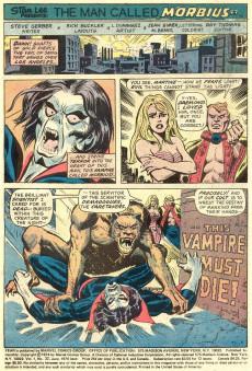 Extrait de Adventure into Fear (Marvel comics - 1970) -22- Curse of the Cat-Demon!