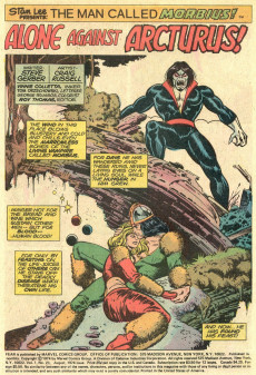 Extrait de Adventure into Fear (Marvel comics - 1970) -23- A world he never made!