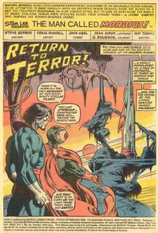 Extrait de Adventure into Fear (Marvel comics - 1970) -24- Blade, the vampire slayer!