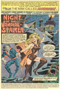 Extrait de Adventure into Fear (Marvel comics - 1970) -27- Nightkill!