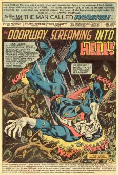 Extrait de Adventure into Fear (Marvel comics - 1970) -28- Doorway down Into Hell