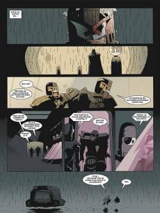 Extrait de Judge Dredd (Delirium) -1- Origines