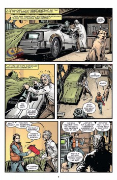 Extrait de Back to the Future (2015) -4- Untold Tales and Alternate Timelines #4