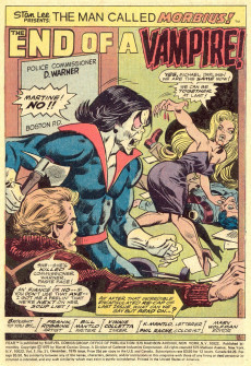 Extrait de Adventure into Fear (Marvel comics - 1970) -31- End of a Vampire!