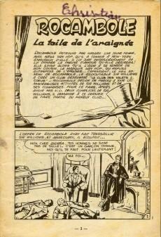 Extrait de Rocambole -8- La toile de l'araignée