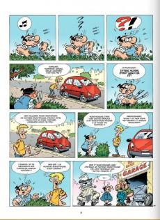 Extrait de Les damnés de la route -10- Sortie de route pour la deuche!
