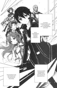 Extrait de Accel World -5- Tome 5
