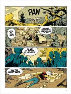 Extrait de Lucky Luke (vu par...) -1- L'Homme qui tua Lucky Luke