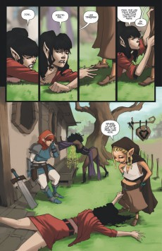 Extrait de Rat Queens -1- Donjons & draguons